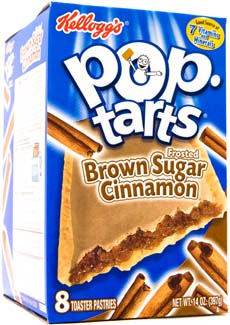 Walt DFS - Kellogg´s Pop Tarts Brown Sugar Cinnamon - 18 count DFS