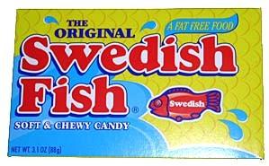 Walt Dfs Swedish Fish Red 12 Box Dfs
